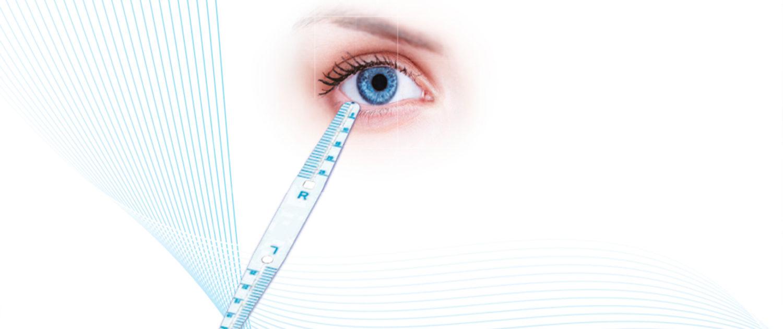 Augen-Schnelltest